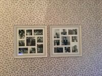 Two NEXT Photo collage frames