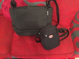 Mammas pappas changing bag and avens bottle bag