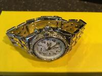 Breitling Chronomat 18kyg-S/S diamonds everywhere must see reduced for quick sale £3000 no offers