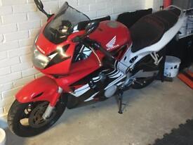 CBR600FV motorcycle