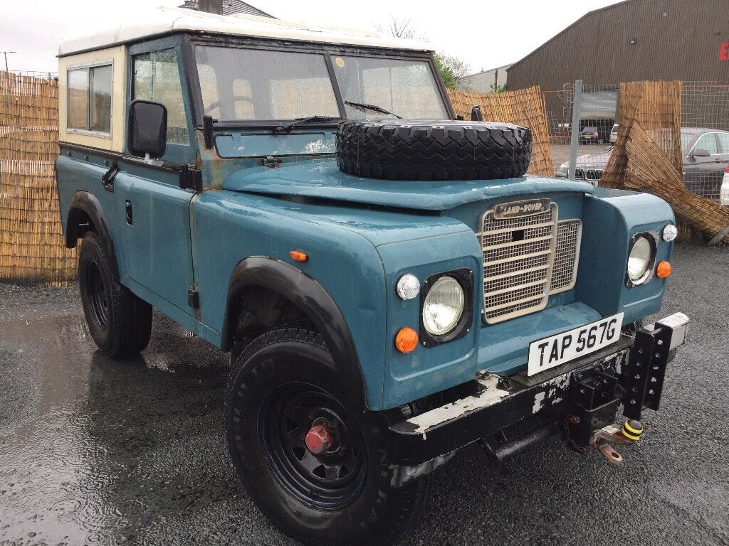 1969 land rover series 3 88 county style diesel mot 16. Black Bedroom Furniture Sets. Home Design Ideas