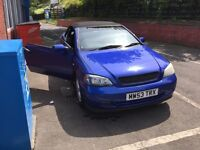 Vauxhall Astra bertone convertable 1.8(swaps for road bike)