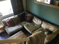 Large corner sofa for free