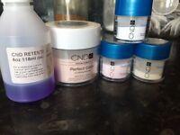 Acrylic nail kit. CND Liquid and powder