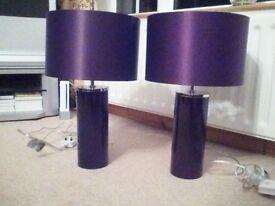 2 Next lamps