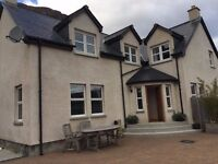 DETACHED 1 1/2 STOREY HOUSE 4 GOOD SIZED BEDROOMS 12 MILES FROM ULLAPOOL