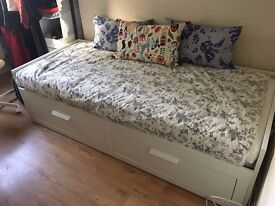 Ikea Brimnes day bed - extends into double bed