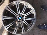 Bmw M3 19'' Genuine Alloy Wheel FRONT 8.5j SINGLE WHEEL CAN POST (1 wheel)