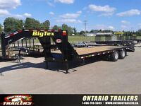 2015 Big Tex Trailers 22GN -20+ 5 / 2 SPRING ASSIST RAMPS