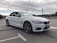 2015 65 BMW 435D XDRIVE MSPORT CONVERTIBLE **STILL UNDER MANUFACTURES WARRANTY** £28,995