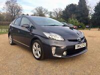 2012 (62 Plate) Toyota Prius 1.8 VVT-i Hybrid T Spirit CVT.. FULL TOYOTA HISTORY.. UK CAR..
