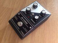 Moog Minifooger flanger effects pedal