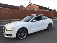 2011 Audi A5 se tdi coupe in white