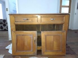 Sideboard - antique Norwegian oak