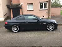 BMW 320i Black M sport 08 2 Door Coupe