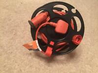 FLYMO Power Cable on reel for storage as new.