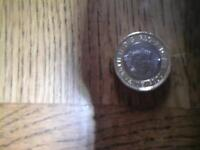 New one pound coin mistake on date 20