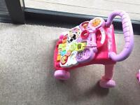 Vtech baby first walker with musical