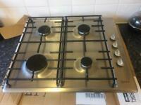 Neff 4 burner gas stainless hob