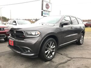 2017 Dodge Durango GT 4WD W/DUAL SCREEN BLUE-RAY DVDS