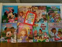 Disney Junior Me Reader - 8 story books and read aloud electronic story reader