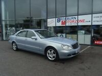 2003 53 MERCEDES-BENZ S CLASS 3.2 S320 CDI L 4d AUTO FREE 12 MONTHS MOT ** GUARANTEED FINANCE **