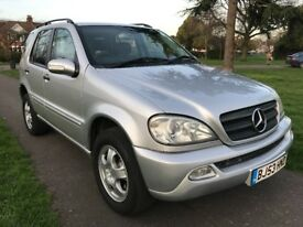 Mercedes-Benz M Class 2.7 ML270 CDI Special Edition 5dr