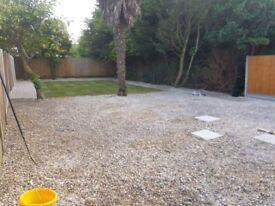 Landscape garden service