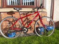 Trax 700 T hybrid bicycle,mountain bike, fully working A1 condition,very clean-just serviced
