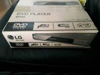 Brand new LG Dvd player