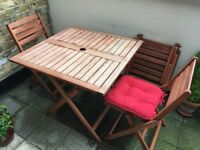 Garden & Patio Dining Furniture Set