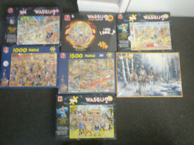 7 Jigsaws including 3 brand new in packaging (wasjig)
