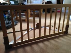 Babydan wooden bed guard for child/toddler