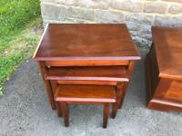 Nest of 3 tables * free furniture delivery *