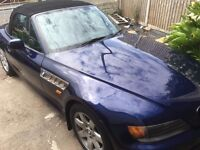 1998 BMW Z3 BLUE 1.9 Montreal Blue Project Useable
