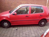 VW Polo 1.0L 2001 for sale.
