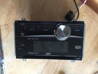 Car radio JVC bluetooth 4 way