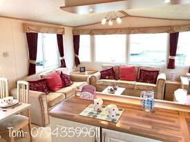 DOUBLE GLAZED STATIC CARAVAN FOR SALE ON SITE ! PITCH FEES INCLUDED FOR 2017 ! NORTH EAST