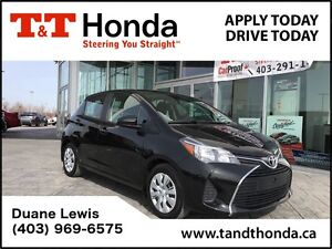 2015 Toyota Yaris **C/S*LE *No Accidents, One Owner, Bluetooth