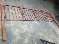 Driveway gates metal gates