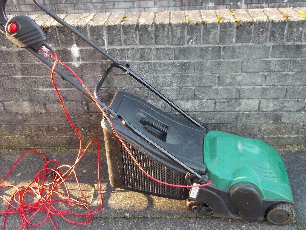 Qualcast Lawnmower - with Grass Box