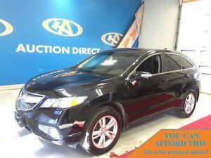2013 Acura RDX AWD! V6! LEATHER! FINANCE NOW!