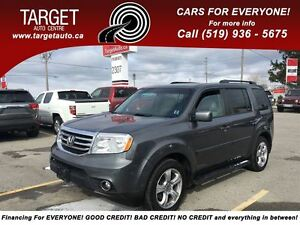 2012 Honda Pilot EX-L Fully Loaded; Leather, Roof and More !!!!