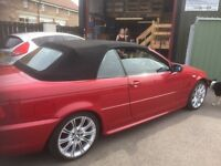 BMW 318iC coupe. M sport. Red. Lady owner. Lovely condition. FSH. Only 64000 miles. Any inspection.