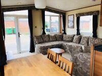 Modern 3 bedroom static caravan with front opening patio doors - Romney Sands in Kent!