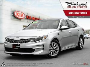 2016 Kia Optima EX Tech *ONLY 5025 KM! COOLED SEATS NAV SUNROOF*