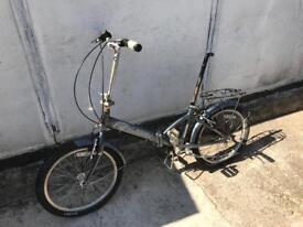 Raleigh folding bike large frame