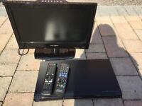 TV & Blue ray & DVD player