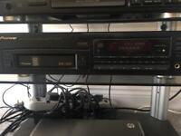 Pioneer 6-cd Changer unit.