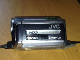 JVC HDD EVERIO CAMCORDER
